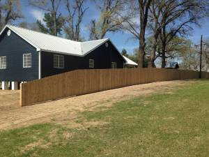 Cedar Privacy - Texas Fence and Iron co.