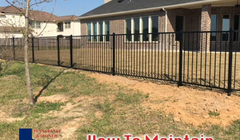 How to Properly Maintain a Wrought Iron Fence for Long-Lasting Results