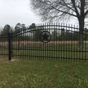 Gate - Residential- Texas Fence and Iron