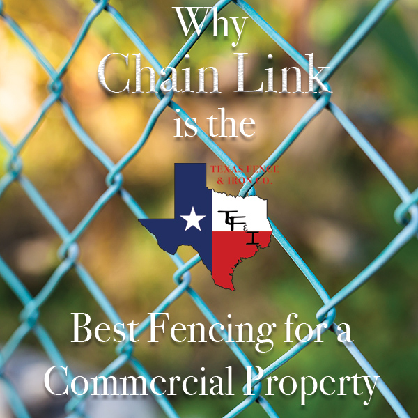 Why Chain Link is Ideal Fencing for a Commercial Property