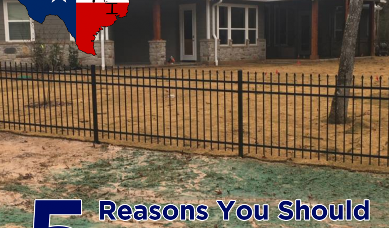 5 Reasons You Should Install a Fence